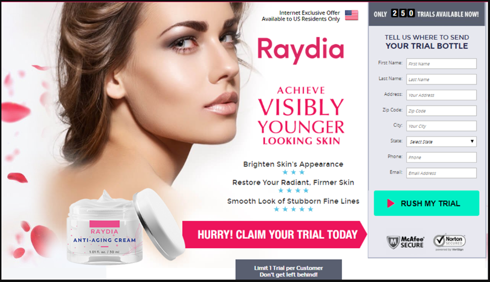 Where to Buy Raydia Cream