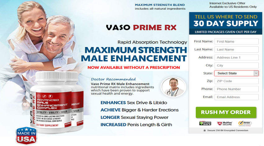 Where to Buy Vaso Prime RX