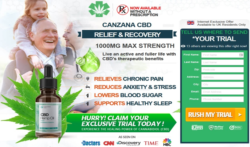Where to buy Canzana CBD Oil